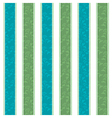 Green Blue Line Pattern Background vector image