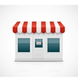 Business stall vector image