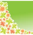 flower for card design vector image