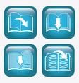ebook icon vector image