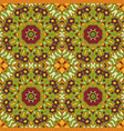 oriental pattern traditional seamless ornament vector image