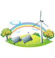 Renewable Energy Background vector image