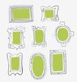 fun frames vector image vector image