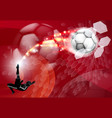 abstract soccer sport background vector image vector image