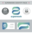 Abstract identity concept Logotype template for vector image