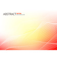 Red Abstract Lines vector image