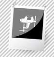 clamp vector image vector image