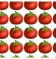 fresh vegetable pattern background vector image