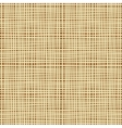 Seamless background texture of canvas vector image