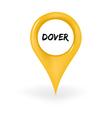 Location Dover vector image