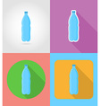 fast food flat icons 06 vector image