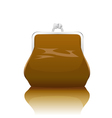 old-fashioned purse vector image