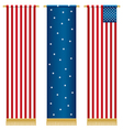 usa wall hangings vector image