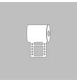 Film strip computer symbol vector image