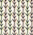 Artistic color brushed black arrows vector image