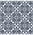 Floral ornate tile or seamless pattern vector image vector image