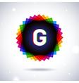 Spectrum logo icon Letter G vector image