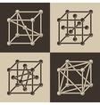 Cubeframe vector image