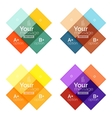 color stripes infographics templates vector image