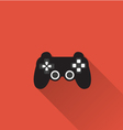 Game controller icon in minimal style vector image vector image