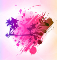 abstract colorful summer background vector image