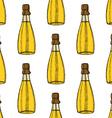 Sketch spa oil vector image