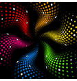 3d abstract dynamic vector image vector image
