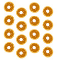 donut pattern vector image