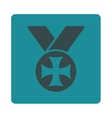 Maltese medal icon from Award Buttons OverColor vector image