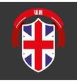 shield england vector image