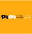 cistern truck it is white icon vector image