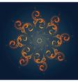 Tribal sun vector image