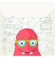 Monster Professor vector image