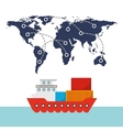 import and export design vector image
