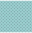 Tile black small polka dots on mint background vector image vector image