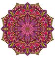 Bright colorful mandala vector image