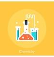chemistry vector image
