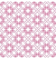 Seamless pattern with geometric tiles vector image