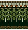 Ornamental floral seamless pattern vector image