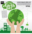 April 22nd Earth day conceptual EPS10 vector image