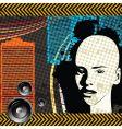 grunge club vector image