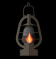 Lantern Gas Lamp vector image