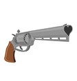 Love Gun Weapons for shooting kisses Magnum heart vector image