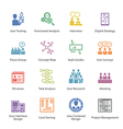 Web Usability Icons Set 1 - Colore vector image