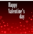 Flying hearts Valentine s day or Wedding vector image