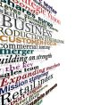 business words vector image
