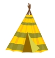 Home wigwam vector image