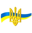 symbols of ukraine vector image