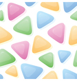 Triangle Candy background vector image