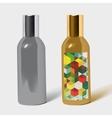 perfume bottle package vector image